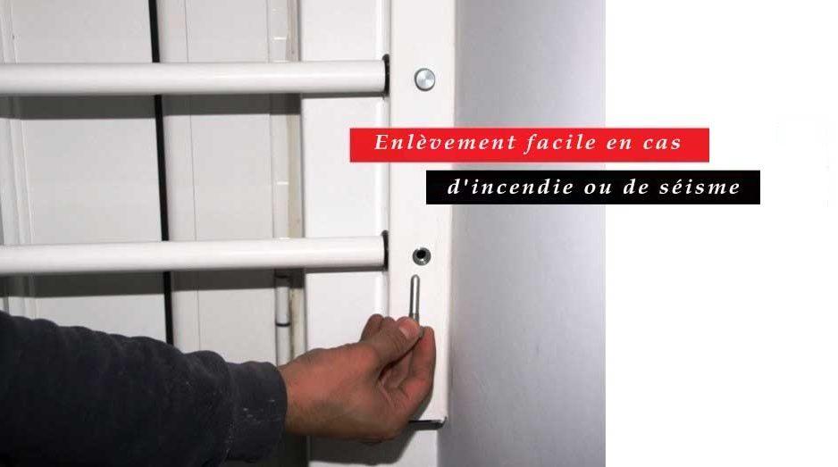 Viometaloumin portes de s curit articul es grille de s curit articul e barres de s curit - Barre de securite pour porte d entree ...