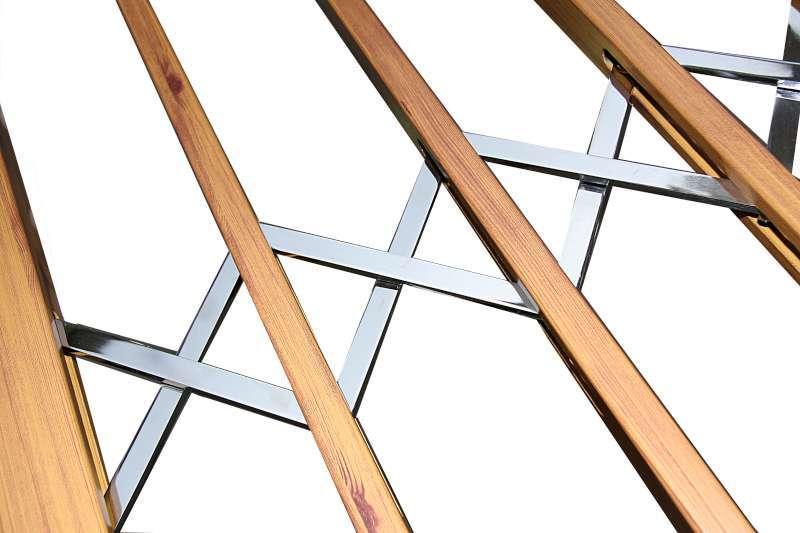 Folding stainless steel aluminum coated safety Type-120-2