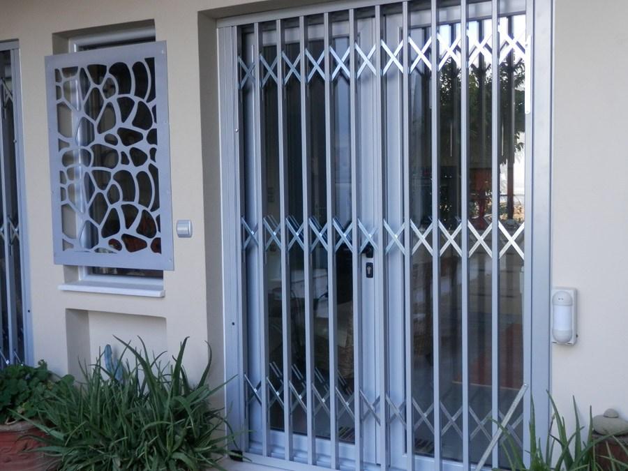 Folding stainless steel aluminum coated safety Type-120-9